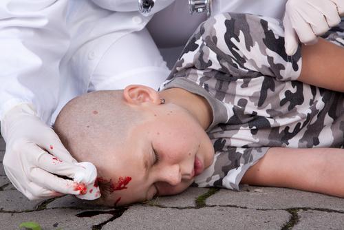 otras mozgu u detí poranenie hlavy