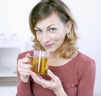 tvárová gymnastika bylinné čaje