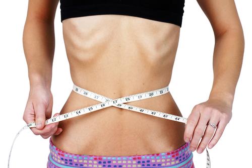 Anorexia chorobné chudnutie meter