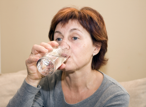 obličky a pitie vody