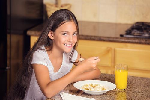biela múka cereálie raňajky