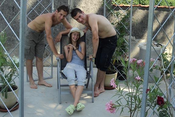 Eva Hrdinová: moje tri deti