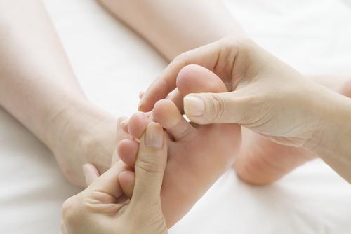 dna palec na nohe