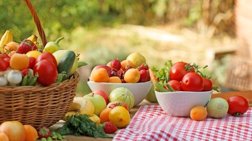 dna zelenina ovocie