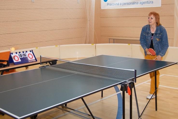 Stolný tenis Parkinsonova choroba