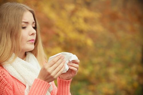 nosová hygiena jeseň kvapôčková infekcia
