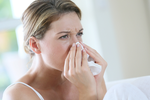 nosová hygiena nosné dierky