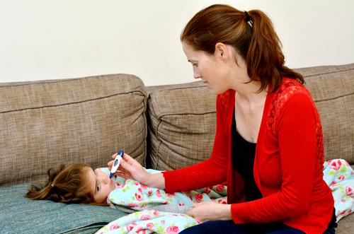 detská obrna príznaky teplota