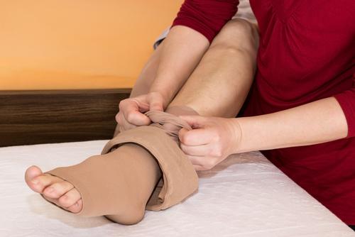 kompresné návleky na stehná