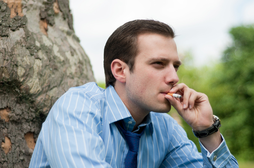 chrápanie fajčenie