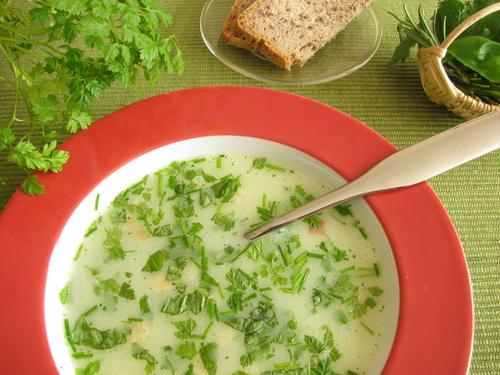 polievka zo žihľavy
