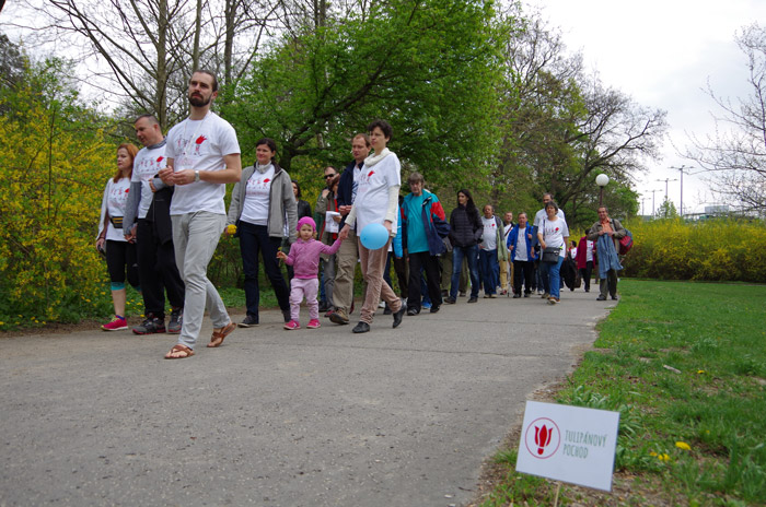 Tulipanový pochod 2017 Bratislava