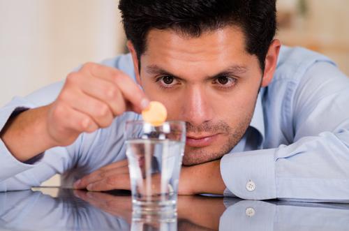 šumivý aspirín