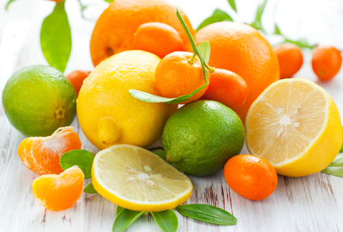 seboroická dermatitída citrusy
