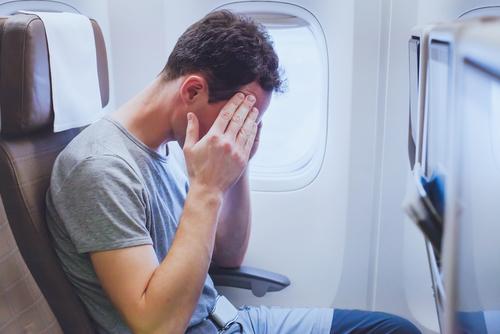 klaustrofóbia v lietadle