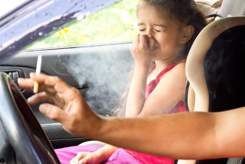 pasívne fajčenie a deti