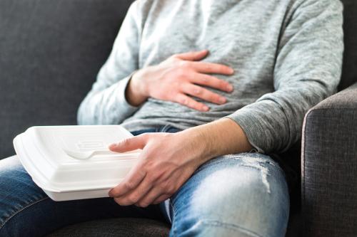 bolesť na hrudi po jedle