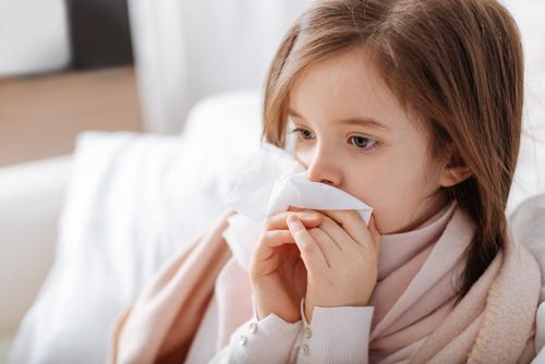bronchitída u detí