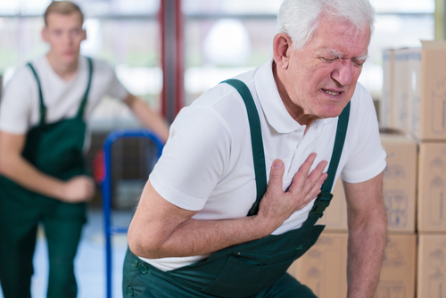 infarkt príznaky
