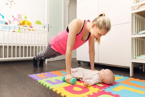 cvičenie-po-porode-diastáza