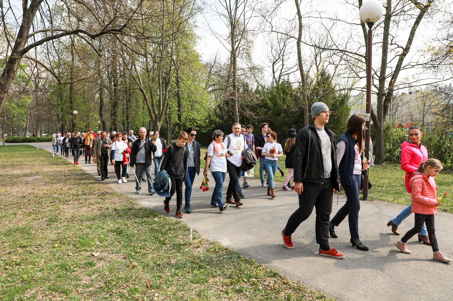 Tulipánový pochod solidarity 1