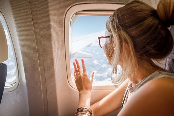 úzkosť v lietadle