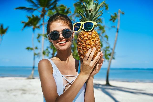 čerstvý-ananás