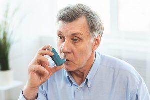 chronické choroby pľúc záchvat astmy