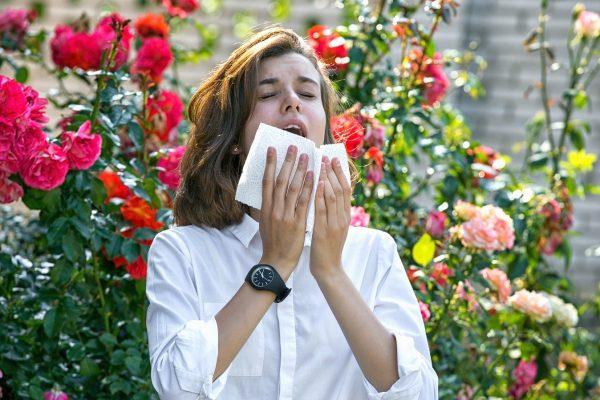 astma príznaky alergie