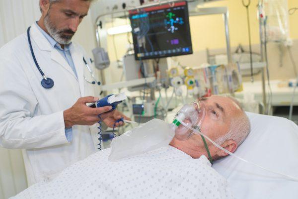 kyslík na dýchanie