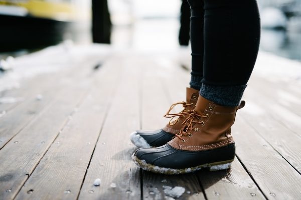 barefoot na zimu