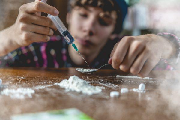 závislosť od heroínu