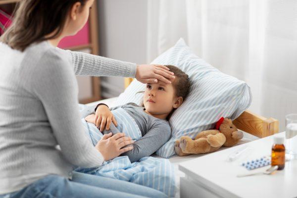črevná viróza zvracanie u deti