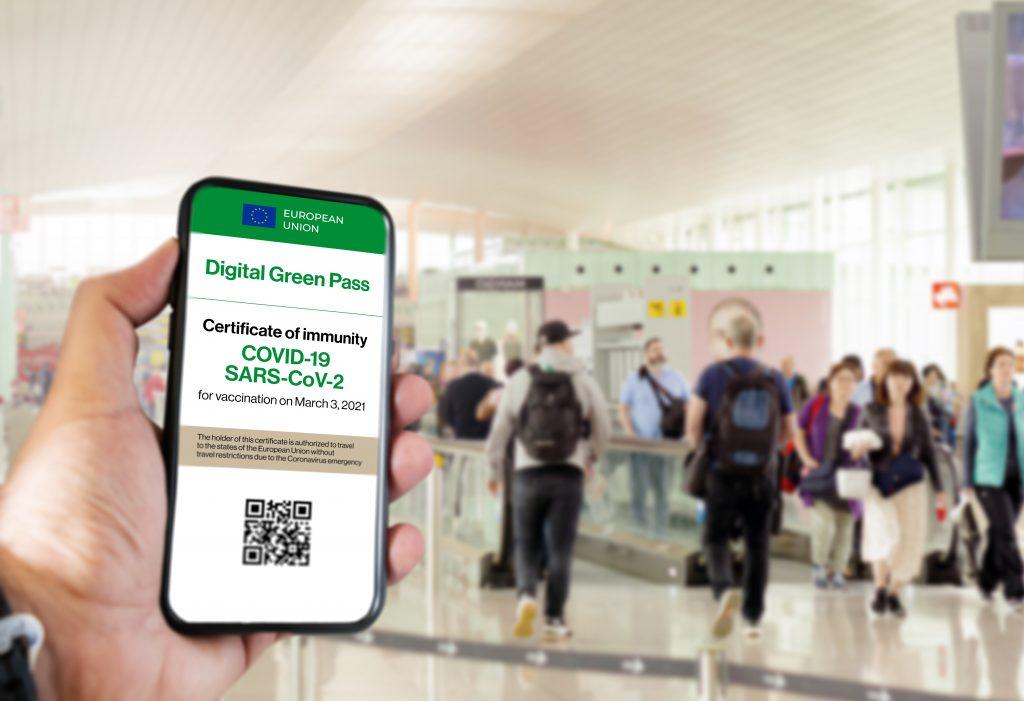 Digitálny covid pas