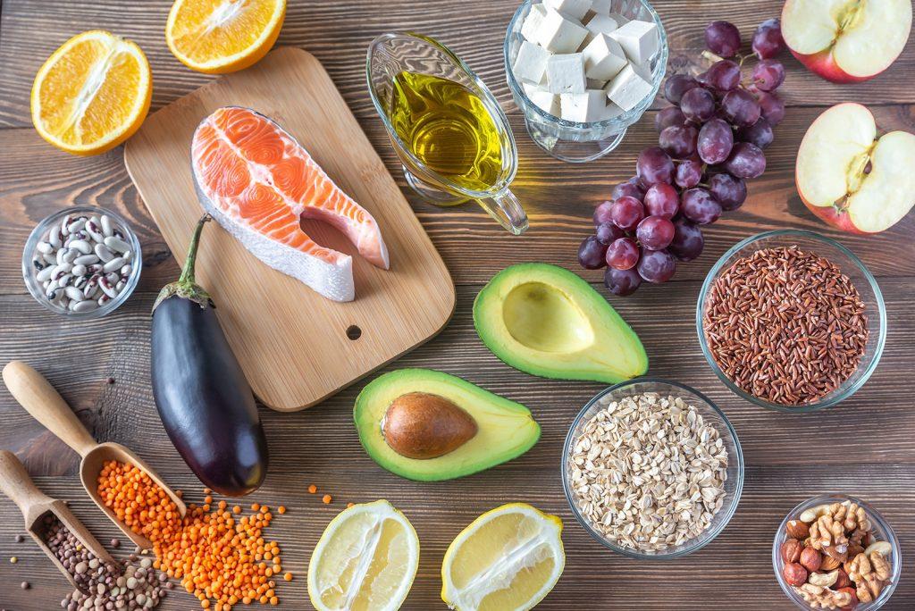 Jedlá s nízkym cholesterolom