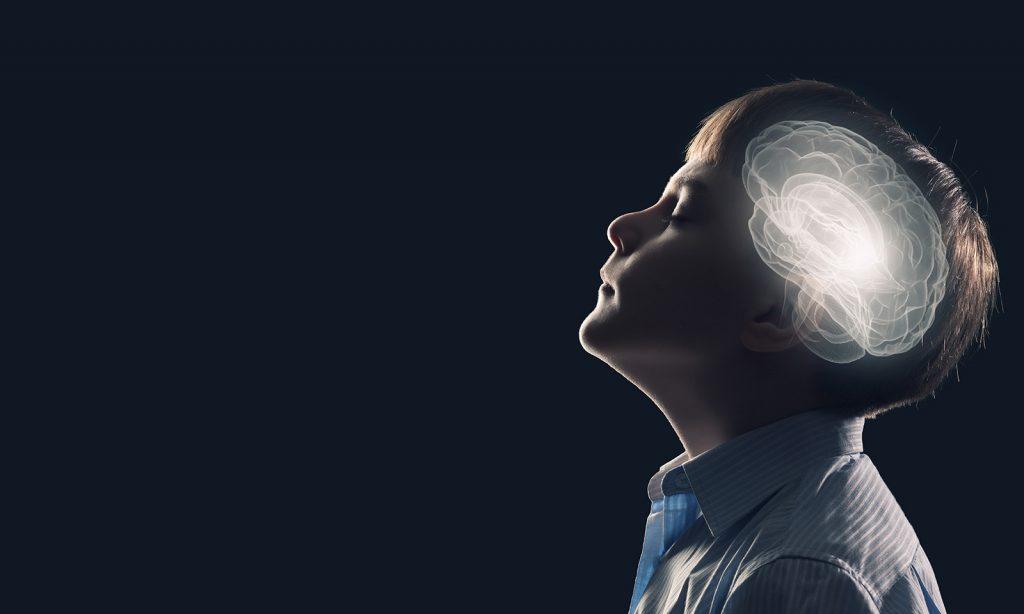 Mozog v hlave dieťaťa