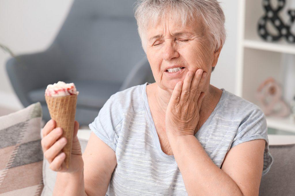 Bolesť zubov pri jedení zmrzliny