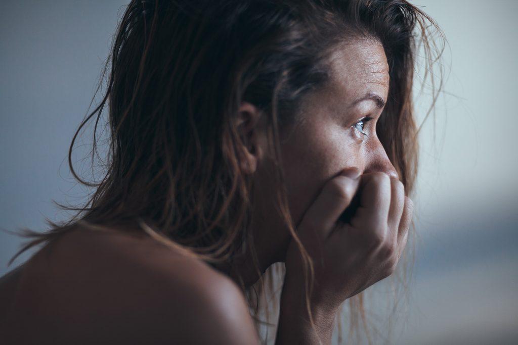Depresívna žena