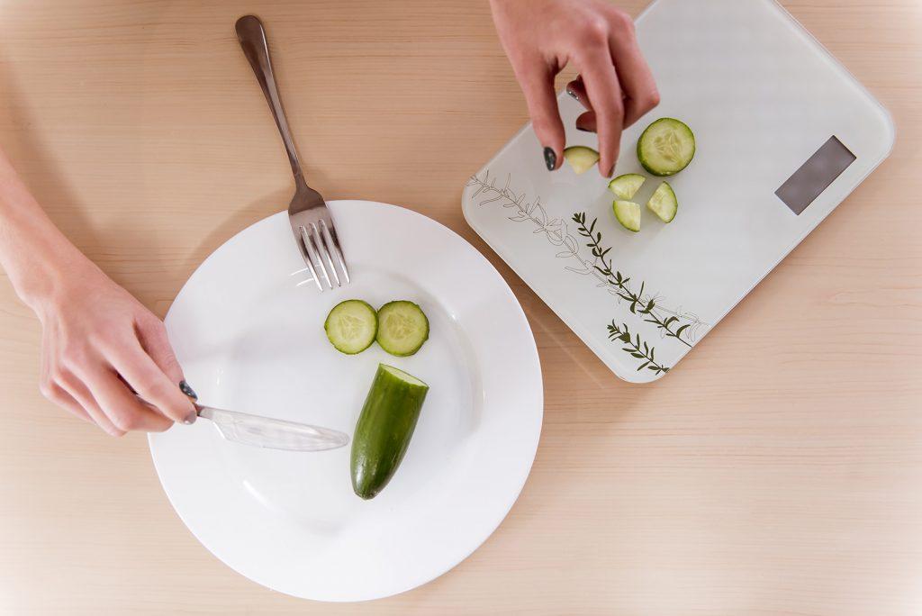 Mini porcia jedla pri anorexii