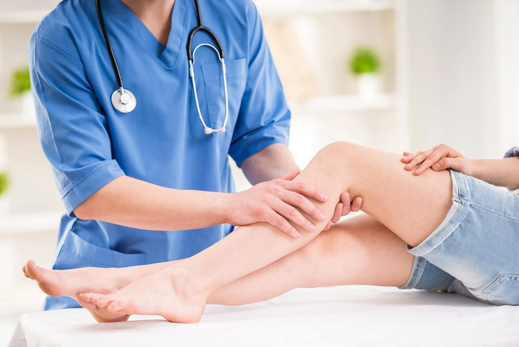 vyšetrenie kolena